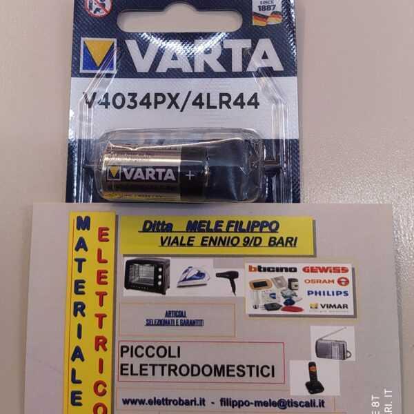 Batteria alcalina 4LR44 PX28 6 volt